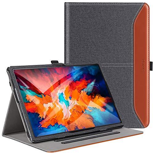 ZtotopCases Custodia per Lenovo Tab P11 Pro 11.5 (TB-J706F/J706L), Slot per Schede Multi-Angolo, con Funzione di Sveglia/Sonno Automatico per Lenovo Tab P11 Pro 11.5, Denim Nero