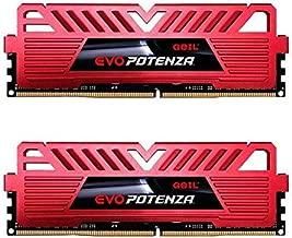 GeIL EVO Potenza 16GB (2 x 8GB) 288-Pin DDR4 SDRAM DDR4 2666 (PC4 21330) Desktop Memory Model GPR416GB2666C19DC