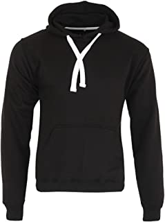 Parsa Fashions Mens Classic Hooded Sweatshirt Jumper Plain Pullover Hoodie Adult Top