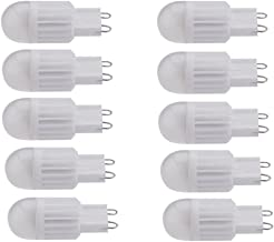 Led bulbs, 10X G9 Bulb SMD LED Light Bulb 3Watt New Technology Ceramic LED Replacement For 40w G9 Halogen Energy Saving Di...