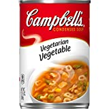 Made with honest ingredients like farm-grown carrots, potatoes and corn Packaged in a non-BPA-lined, 10.5 oz. recyclable can Excellent source of Vitamin A A soup that's perfect for vegetarians Count on these timeless flavors to satisfy