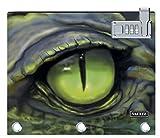 Vaultz Locking Binder Pouch, 9.7 x 8 x 1 Inches, Crocodile Eye (VZ03709)