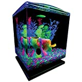 GloFish Aquarium Kit 1.5 Gallons, Easy Setup and Maintenance,...