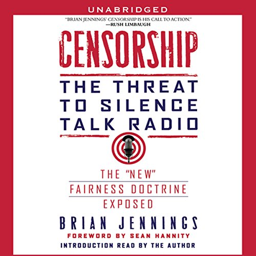 Censorship audiobook cover art