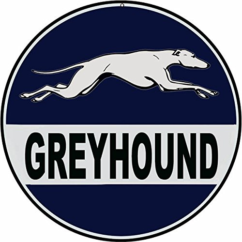 Plastic Street Signs: GREYHOUND DRIVE GREY HOUND Gifts Dogs