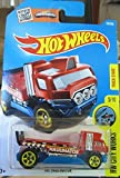 hot wheels flatbed truck - Hot Wheels 2016 HW City Works The Haulinator (Flat Bed Truck) 170/250, Red