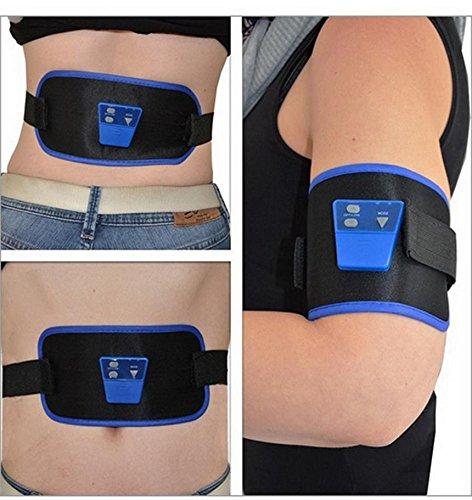 Sicher Vending Schweden ABGymnic AB Gymnic Electronic Body MuskelMassager Arm-Bein-Taille Bauchmassage Gewicht verlieren Übung Toning Gürtel Slim Fit