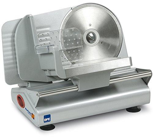 DPE Perfetta 190 Elettrico 150W Metallo, Acciaio inossidabile Argento affettatrice