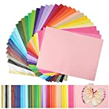 Superise 360 Sheets 36 Multicolor Tissue Paper Bulk Gift Wrapping Tissue Paper Decorative Art Rainbow Tissue Paper 12' x 8.4' for Art Craft Floral Birthday Party Festival Tissue Paper Pom Pom