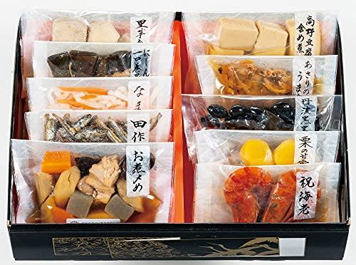 カモ井 新含気おせちセット 幸 10品 2人前 おせち料理 2022 個包装 重箱なし 常温 お届け日:12月30日