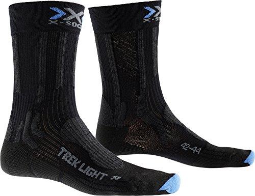 X-Socks Trekking da Uomo Light calzino, Uomo, Trekking Light, Nero/Blu, S