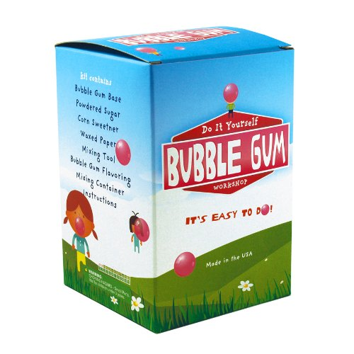 Do it yourself Bubble gum Kit   Makes 1/4 lb of Bubblegum!   Copernicus Toys   A fun and great-tasting way to explore the science of food!