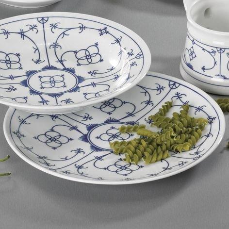 Tafelservice 12tlg Tallin Indischblau Teller für 6 Personen - der Porzellan Klassiker