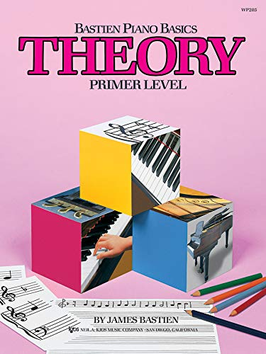 WP205 - Bastien Piano Basics - Theory - Primer Level (Primer Level/Bastien Piano Basics Wp205)