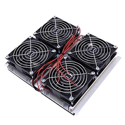 WNJ-TOOL, 1PC Semiconductor Peltier Cooler 240W Semiconductor Refrigeración Termoeléctrico Peltier Enfriador de Placa fría con Ventilador A2