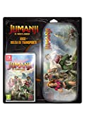 Jumanji El Videojuego Game + Case bundle switch