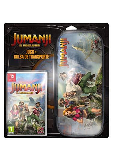 Jumanji El Videojuego Game + Case bundle switch