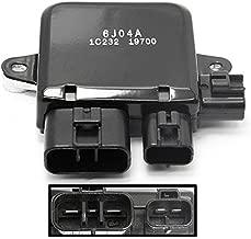 1355A124 Radiator Cooling Fan Control Unit Module for 2003-2006 Mitsubishi Outlander 2002-2007 Mitsubishi Lancer 2003-2013 Mazda 6 2002-2006 Mazda MPV Replace # 1C232-19700 AJY215SC0 AJ511515YA