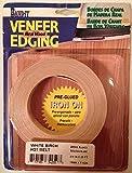 Band-It 34250 Real Wood Veneer Iron-on Edgebanding, 3/4' x 25', White Birch