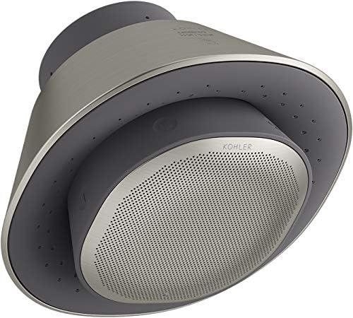 Kohler K 28238 NKE BN Moxie Showerhead 2 5 GPM Vibrant Brushed Nickel product image