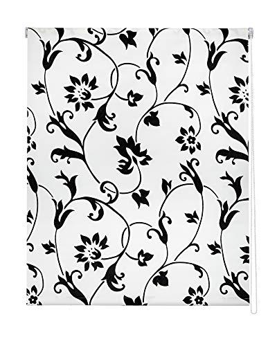 Easydeco Estor Enrollable Estampado Flores Campanilla (75_x_175_cm)