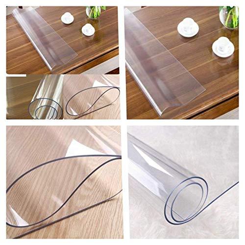 Toptablecloths Protector de Mesa de PVC Transparente Disponible en ...