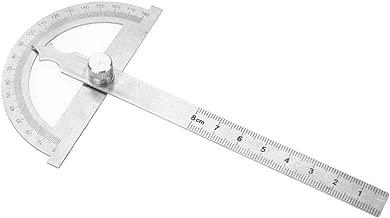 Edelstahl Winkelmesser, 0-180 Grad 15 cm Digital Neigungsmesser Winkelmesser Goniometer Winkelsucher Messgerät Lineal(80 * 120mm)