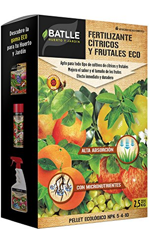 Abonos Ecológicos - Fertilizante Cítricos y Frutales Eco -