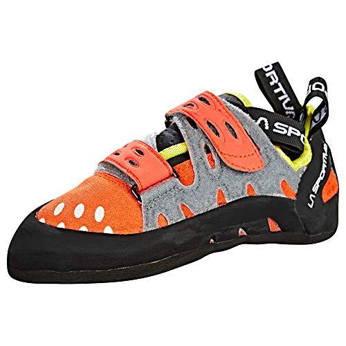 LA SPORTIVA Tarantula Kletterschuhe, für Damen, Orange/Pink (Koralle), Größe 41,5