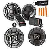 Polk Audio - A Pair of DB6502 6.5' Components and DB652 6.5' Coax Speakers - Bundle Includes 2 Pair