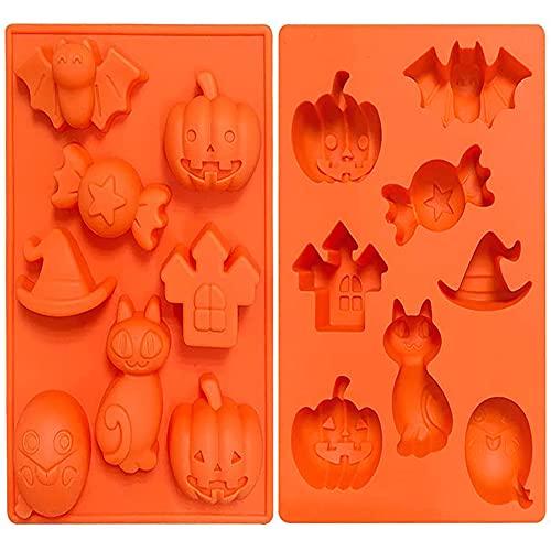 Moldes De Reposteria Halloween Marca Crethink