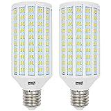 MENGS 2 pezzi Lampadine a LED E40 50W Lampada LED (Equivalente a 400W) Lampada a LED Blanco Freddo 6000K, AC 85-265V, 4400lm Luce a LED