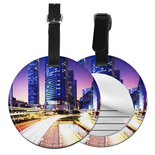 Etiquetas para Equipaje Bolso ID Tag Viaje Bolso De La Maleta Identifier Las Etiquetas Maletas Viaje Luggage ID Tag para Maletas Equipaje Centro de Negocios de automóviles