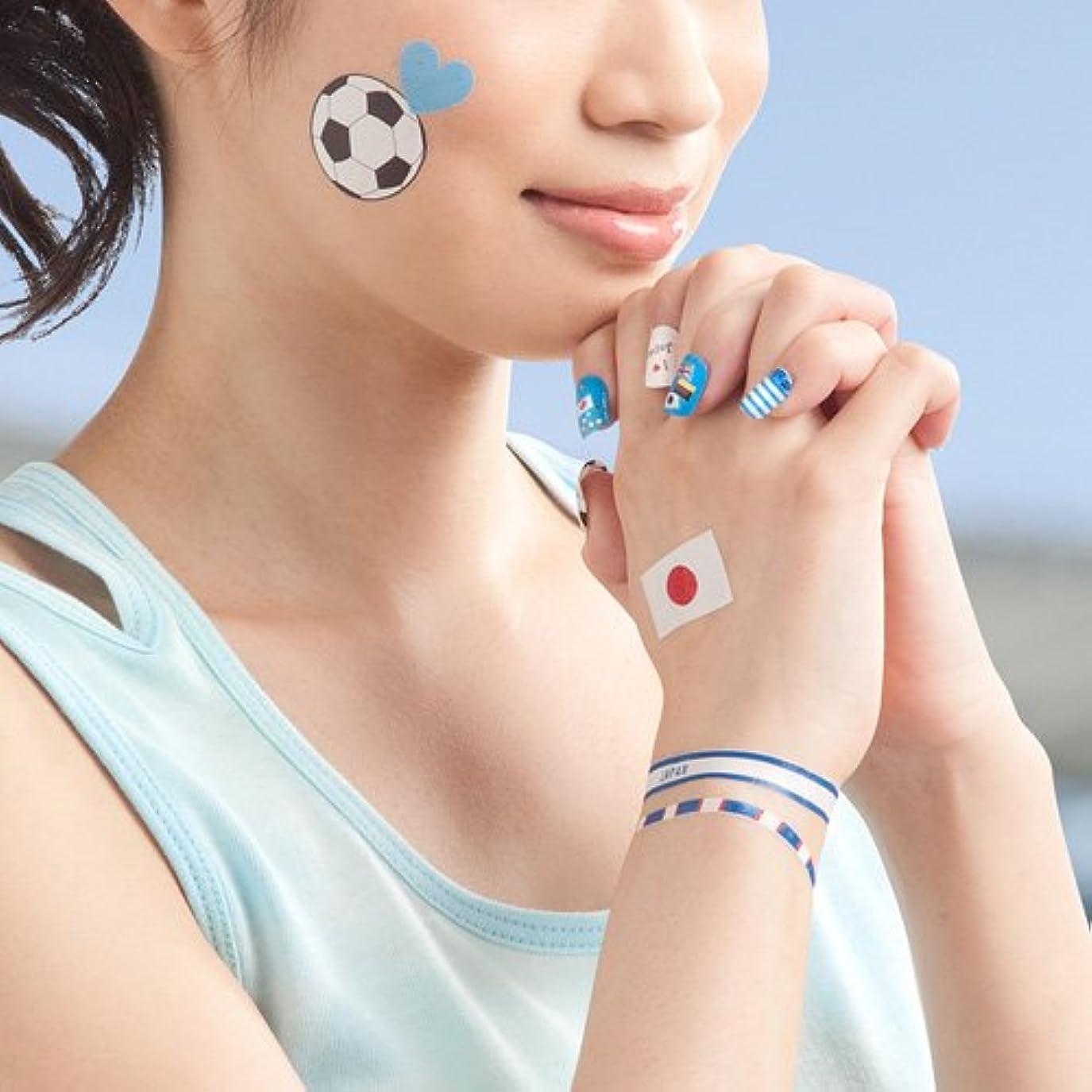 韓国語彼らはきしむサンワサプライ タトゥー?ネイルシール(白)フリーカット LB-TATHK1W