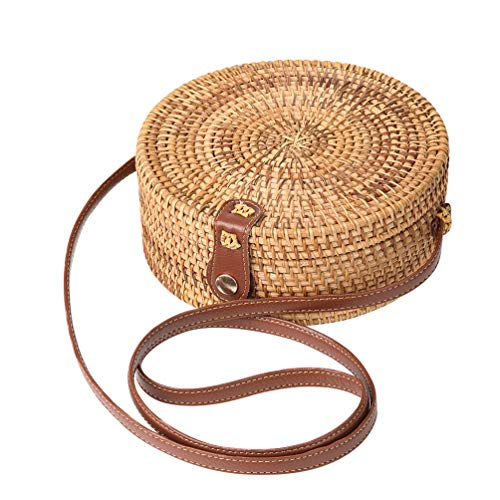 ♥ An Unforgettable Gift For Women: Memorable gift for any woman a must-have straw purse for every fashionista.Whether you keeping it to yourself or gifting someone you care, it will be memorable and unforgettable. ♥ 100% Handwoven Rattan/Atta Bag: un...