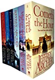 Jeffrey Archer Clifton Chronicles Series 6 Books Collection Set (Only Time Will Tell, Best Kept Secret, The Sins of the Father, Cometh the Hour, Mightier than the Sword, Be Careful What You Wish For)