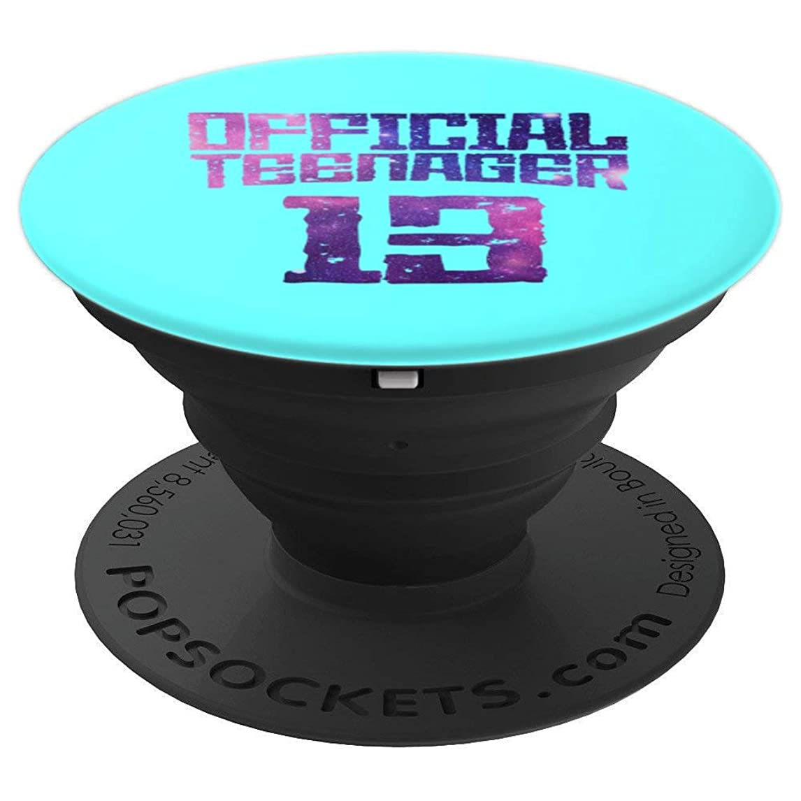 Official Teenager 13th Birthday Teen Men Women Perfect Gift - PopSockets Grip and Stand for Phones and Tablets gbov3854956898