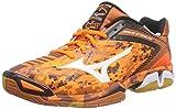 Mizuno Wave Stealth 3, Chaussures de Handball Homme, Orange (OrangeCamo/White/Black 58), 42 EU