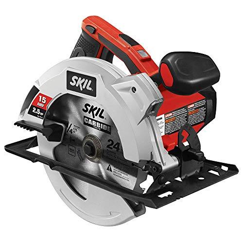 SKIL 5280-01 15-Amp 7-1/4-Inch Circular Saw with Single Beam Laser Guide (Renewed)