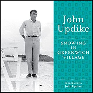 Snowing in Greenwich Village audiobook cover art