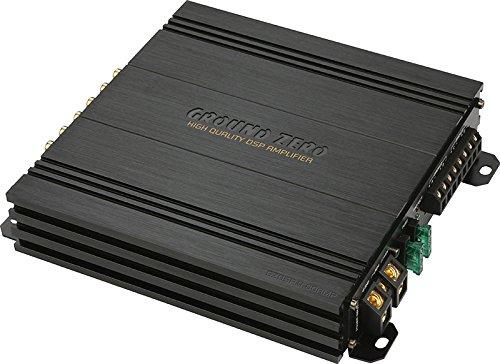 Ground Zero GZDSP 4.80AMP - 4-Kanal Endstufe mit 8-Kanal DSP