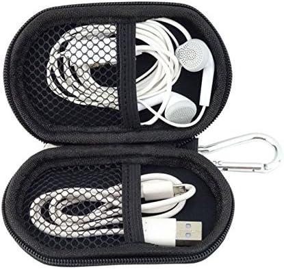 [USB Flash Drive Case] - Lensfo Universial Portable Waterproof Shockproof Electronic Accessories Organizer Holder/USB Flash Drive Case Bag - Blue