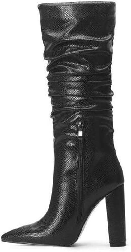 Ranking TOP7 BOXIAO Boots for Women Catwalk High-top Nippon regular agency Snakeskin Pattern Leath