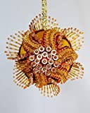 The Glimmer Tree Heart of The Sunrise Beaded Ornament Kit 3' Ball