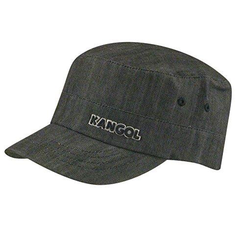 Kangol Denim Army Cap Gorra, Black, L/XL para Hombre