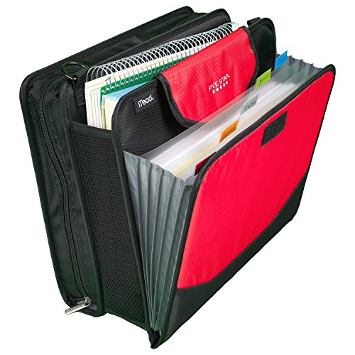 Five Star Sewn Zipper Binder, 2 Inch 3 Ring Binder With 4 Inch Capacity, Assorted Colors, Color Selected For You, 1 Count (28044) Photo #21