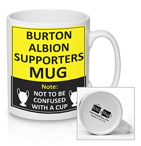 Burton Albion Football Supporters Rival Team Joke Funny New and Easy Office Tea and Coffee Mug Gift