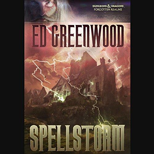 Spellstorm audiobook cover art