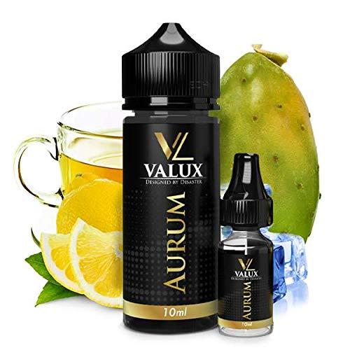 Valux Aroma 10ml Aurum Kaktus Grüner Tee Zitrone e Liquid 10ml Konzentrat ohne Nikotin