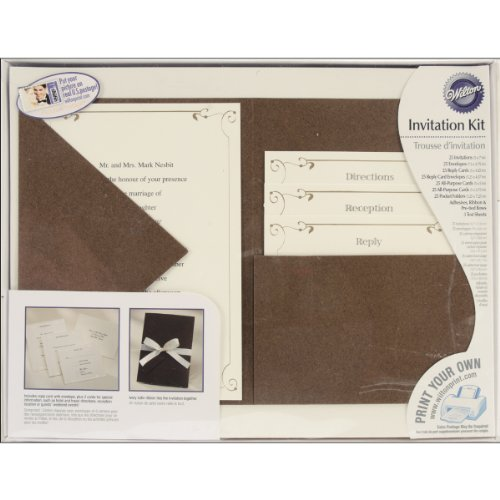 Wilton Vintage Ivy Pocket Invitation Kit